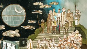 Mondo Star Wars Poster by Scott C Has Everyone In A New Hope